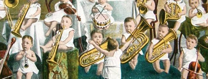 Baby Orchestra - strumenti a fiato