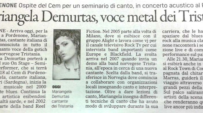 Mariangela-Demurtas-Il-Gazzettino-17-gennaio-2014-Pordenone