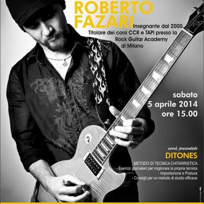 Seminario di chitarra a Pordenone
