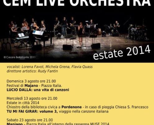 CEM Live Orchestra - 2014