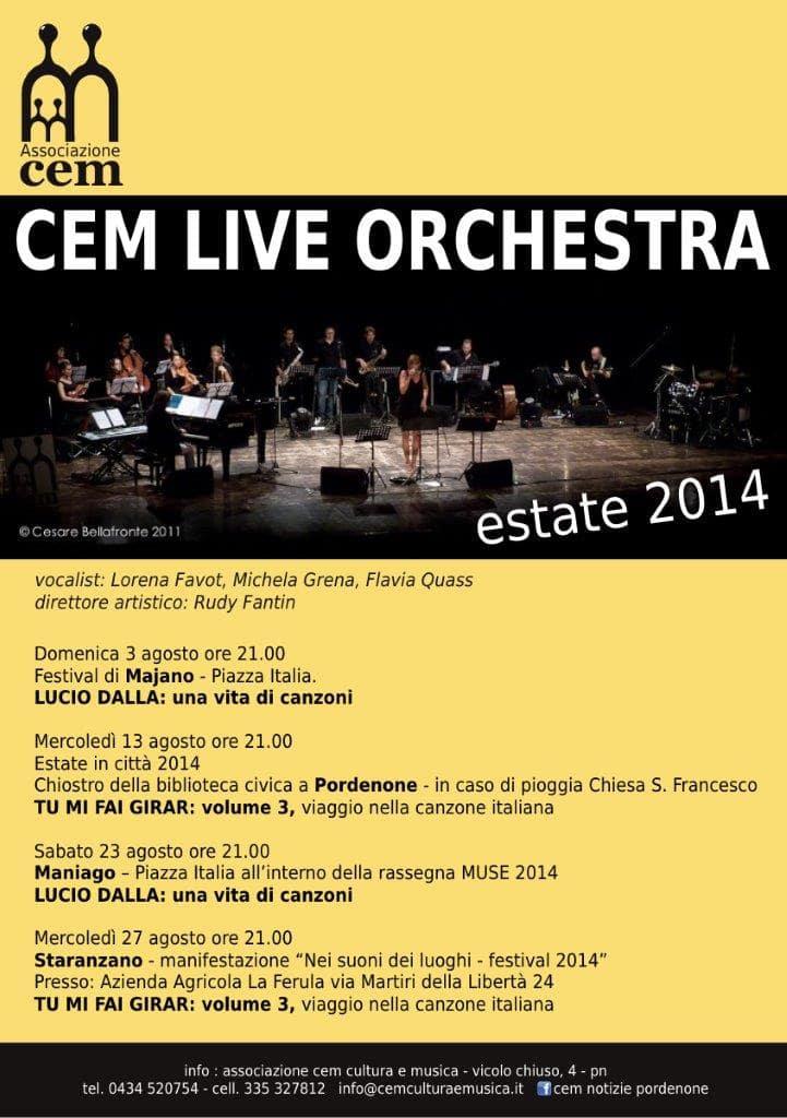 CEM Live Orchestra - 2014