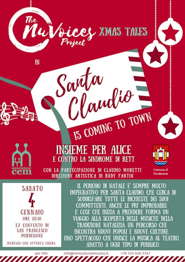 Concerto di Natale - Santa Claudio